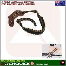 Compound bow SLING BRAIDED ADJUSTABLE BOW WRIST FOR COMPOUND BOWS AND ARCHERY