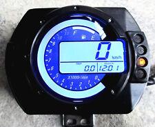LCD Digital Motorcycle ATV Scooter Dirt Bike Speedometer Odometer Tachometer
