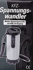 Spannungswandler Wechselrichter Stromwandler KFZ Auto 150/300W 12V-230V USB 5V