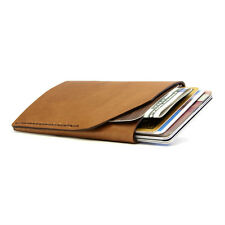 Bison Made No. 2 Wallet in Whiskey Brown, Made in America