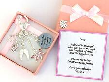 Friendship Gift Personalised Ladies Hand Bag Charm Birthday Gift, Christmas Gift