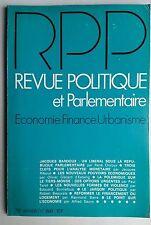 Revue Politique et Parlementaire 1/1976; Trois clef pour l'analyse monétaires
