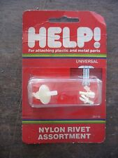 NOS NIP Help Parts # 35110 Nylon Rivet Assortment Universal USA made