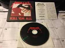 METALLICA - Kill 'Em All (Gatefold CD, Made In Japan, Sony Music SICP 475)