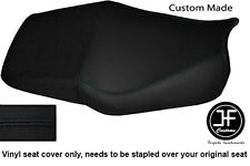 BLACK AUTOMOTIVE VINYL CUSTOM FOR HONDA CBR 600 F DUAL 91-96 SEAT COVER ONLY