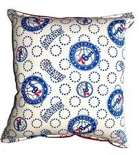 76ers Pillow Philadelphia Pillow NBA Handmade in USA 6 ers