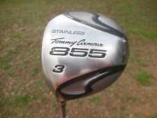 LEFTY Tommy Armour 855 Fairway 3 Wood Golf Club Aldila ExDII R Flex Graphite