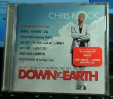 DOWN TO EARTH MUSIC FROM THE MOTION PICTURE CD '01 R&B Soul Hip-Hop