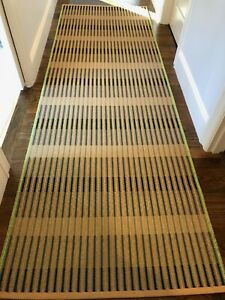 HAY Design Two Ways Waved PaperCord Long Runner Rug- Large size