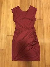 Gemma Crus Womens Sachin Sleeveless Open Back Polyester Dress Size Small