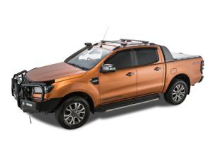 Rhino Rack Vortex SX Black 2 Bar Roof Rack FORD Ranger Wildtrak PX Ute 06/12 On