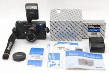 [N MINT] Konica Hexar RF Rangefinder +M Hexanon 50mm f/2 +HX-18w From Japan #300