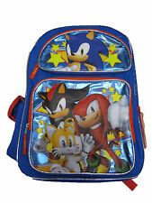 "B16SH30959 Sonic the HedgeHog Large Backpack 16"" x 12"""
