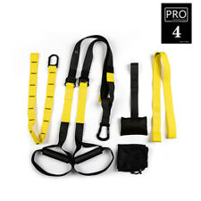 Resistance Bands Fitness Hanging Belt Training Gym Suspension Exercise Rope New