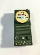 Vintage 80's My Buddy Solider Transreceiver Piece Vintage Doll Accessory
