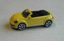 Majorette VW Volkswagen Beetle Cabrio gelb Auto Car Convertible yellow jaune