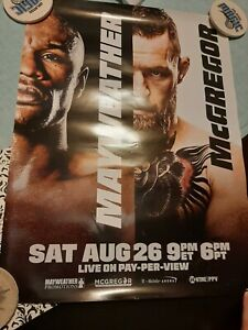Floyd Mayweather VS Conor McGregor Boxing official 18x24 inch poster UFC Fight