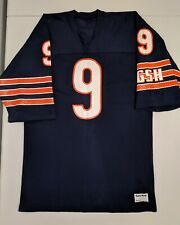 2f1e12d0097 JIM MCMAHON Sand Knit CHICAGO BEARS Navy Jersey Large NFL 1985 Perry Payton