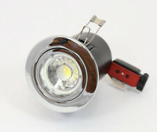 Fire Rated CHROME 240V  LED  GU10 Recessed Ceiling Downlights JCC Quality £2.95