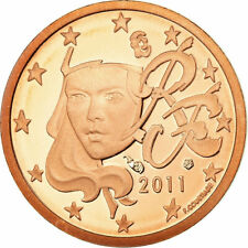 [#730136] Frankrijk, Euro Cent, 2011, BE, FDC, Copper Plated Steel, KM:1282