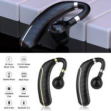 Micro casque sans fil Bluetooth 5.0 pour de sport 6D avec réduction du bruit