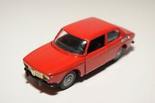N TEKNO HOLLAND SAAB 99 RED EXCELLENT CONDITION RARE BLACK BUMPERS