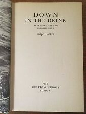 Down in the Drink: True Stories of the Goldfish Club - Ralph Barker