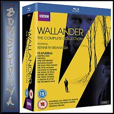 WALLANDER - COMPLETE COLLECTION - SEASONS 1 2 3 & 4 *BRAND NEW BLU-RAY BOXSET