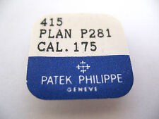 PATEK PHILIPPE 175,177 RATCHET WHEEL + SCREWS PART 415