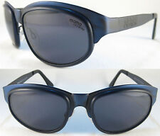 Rare Momo Design Sunglasses for men Solid quality, Spring hingies, metal/Blue *