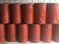 20 Stück 100 L Fass MetallFass Hobbock Blechfass Stahlfass TONNE Lagerbehälter