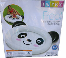 """Intex Smiling Panda Inflatable Baby Pool 46"""" For 1-3 years New in package"""
