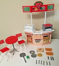 Vintage Mattel Barbie Pizza Hut Restaurant Playset Rare