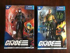 GI JOE Classified Series Lot - Duke & Cobra Commander - NIB