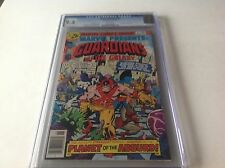 MARVEL PRESENTS 5 CGC 9.4 WHITE PAGES GUARDIANS GALAXY STARHAWK MARVEL COMICS