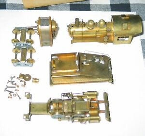 Vintage Brass Steam Engine Tender Kit Motor Works Japan Parts/restore nice