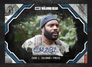 DIGITAL CARD 2017 Topps The Walking Dead Steel Chad Coleman Auto DIGITAL CARD