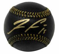 Ronald Acuna Jr. Signed Atlanta Braves Official MLB Blk Leather Baseball JSA ITP