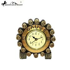 Montana West 12 Gauge Shotgun Shell Desk Clock