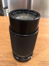 Super Ozeck II Auto Zoom Lens 75 - 200mm 1:4.5 For 35mm Canon Fd