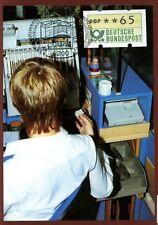 West Germany 1982, 65pf Machine Label Maximum Card #C7630