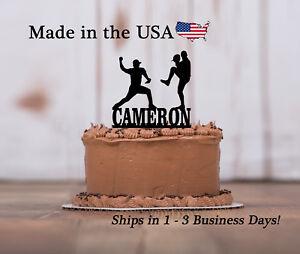 Baseball Pitcher Cake Topper, Sports Theme, Kids Party, Custom Keepsake - LT1316
