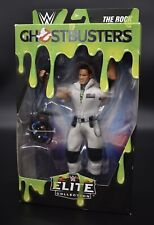WWE Elite Ghostbusters THE ROCK Dwayne Johnson Action Figure Walmart Exclusive