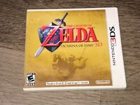 The Legend of Zelda Ocarina of Time 3D Complete CIB Nintendo 3DS 2DS Authentic