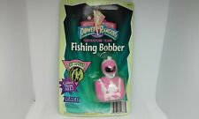 VINTAGE Mighty Morphin Power Rangers Pink Ranger Fishing Bobber ZEBCO 1995 NOS
