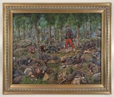 Original Mark Maritato Oil Painting CULP'S HILL REQUIEM Gettysburg Civil War