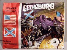 MONTAPLEX Sobre Guerra Civil Americana GETTISBURG Yankees Vs Confederados airfix