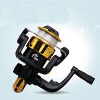 Mini Micro Small Wheel Camping Fishing Tool Spinning Fishing Reel With Line