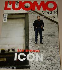 L'UOMO VOGUE MAGAZINE=2006/373=SAM SHEPARD=UK PORTFOLIO BY ALEXI LUBOMIRSKI=
