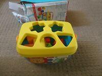 Mattel Fisher-Price Baby First Blocks